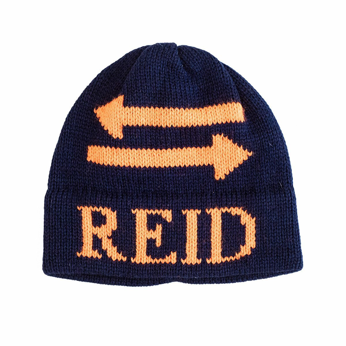 Double Arrow Personalized Knit Hat-Hats-Jack and Jill Boutique