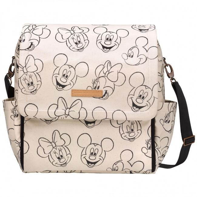 Boxy Backpack in Glazed Sketchbook Mickey & Minnie-Diaper Bags-Default-Jack and Jill Boutique