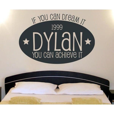 Dream Big Wall Decal-Decals-Jack and Jill Boutique