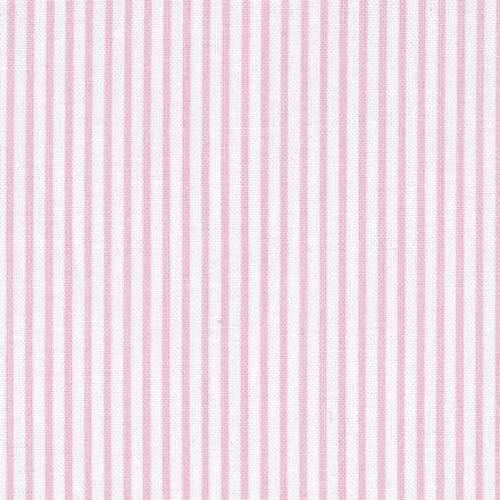 Pink Stripes Cotton Fabric