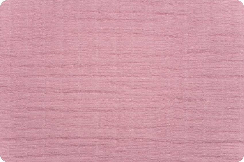 Solid Embrace® Rose | Double Gauze Cotton-Fabric-Jack and Jill Boutique