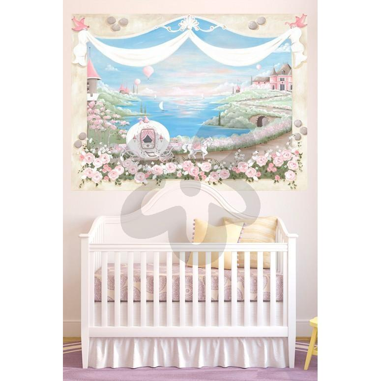 Enchanted Fairytale-Wall Art-72x54-Jack and Jill Boutique