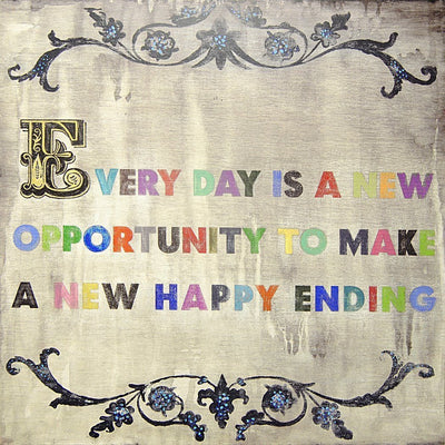 ART PRINT - Every Day is a New Opportunity-Art Print-Jack and Jill Boutique