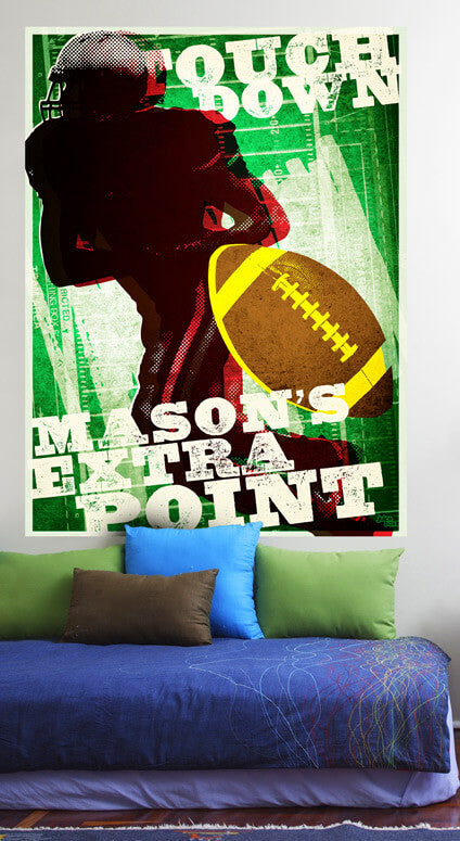 Extra Point Mural Decals Jack And Jill Boutique