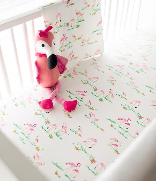 Flamingo Island Bedding Set-Crib Bedding Set-Jack and Jill Boutique