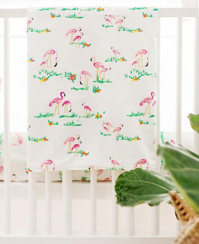 Flamingo Island Bedding Set