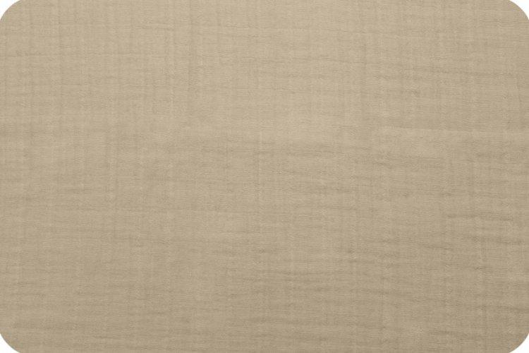Solid Embrace Sand | Double Gauze Cotton-Fabric-Jack and Jill Boutique