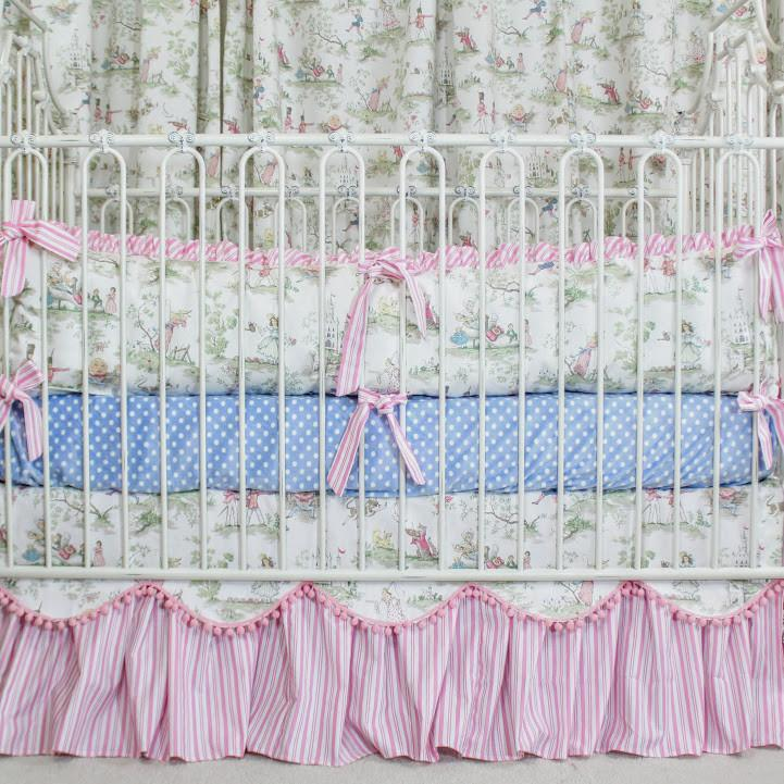 Fairy Tales Inspired Baby Bedding-Crib Bedding Set-Default-Jack and Jill Boutique