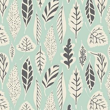Fallen Leaves in Mist Fabric by the Yard | 100% Cotton-Fabric-Jack and Jill Boutique