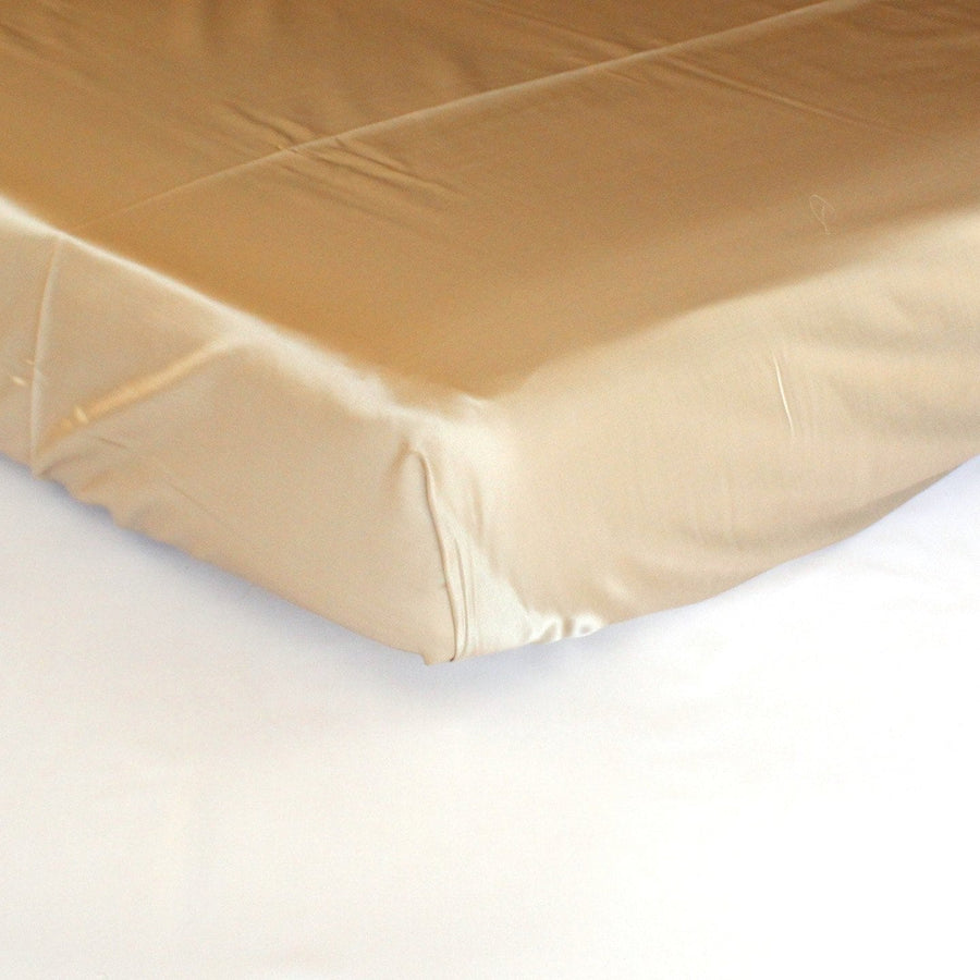 Fitted Crib Sheet | Silk Cotton Blend - Campagne-Crib Sheets-Default-Jack and Jill Boutique