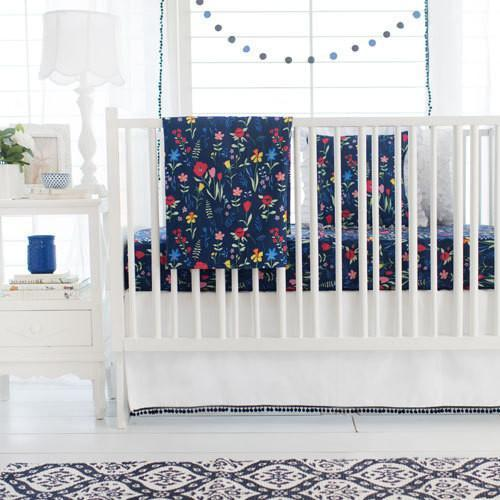 Floral Poppyfield Baby Bedding Set-Crib Bedding Set-Jack and Jill Boutique