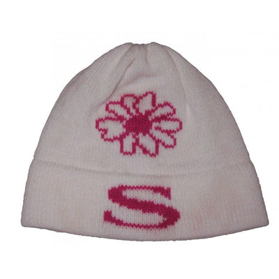 Flower Personalized Knit Hat-Hats-Jack and Jill Boutique