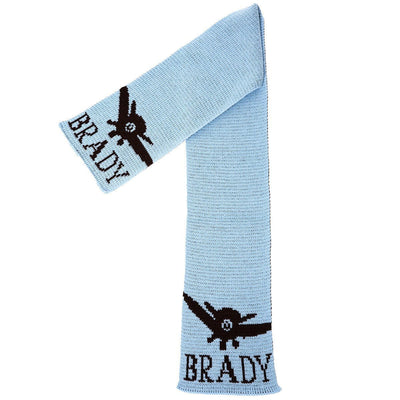 Fly Away Personalized Knit Scarf-Scarves-Default-Jack and Jill Boutique