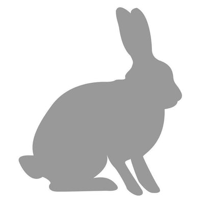 Forest Critters Rabbit Vinyl Wall Decal-Decals-10 in Hx8 in W-Jack and Jill Boutique