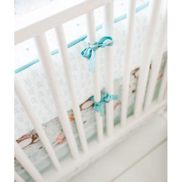 Crib Bumper | Forest Friends Crib Bedding Set-Bumper-Default-Jack and Jill Boutique