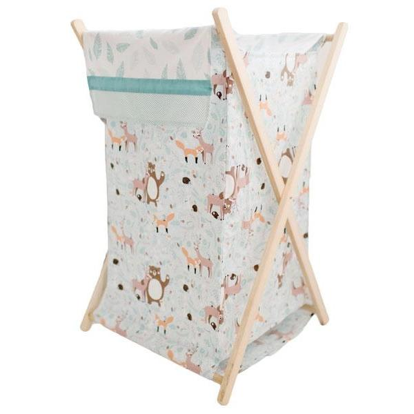 Nursery Hamper | Forest Friends Crib Bedding Set-Hamper-Default-Jack and Jill Boutique