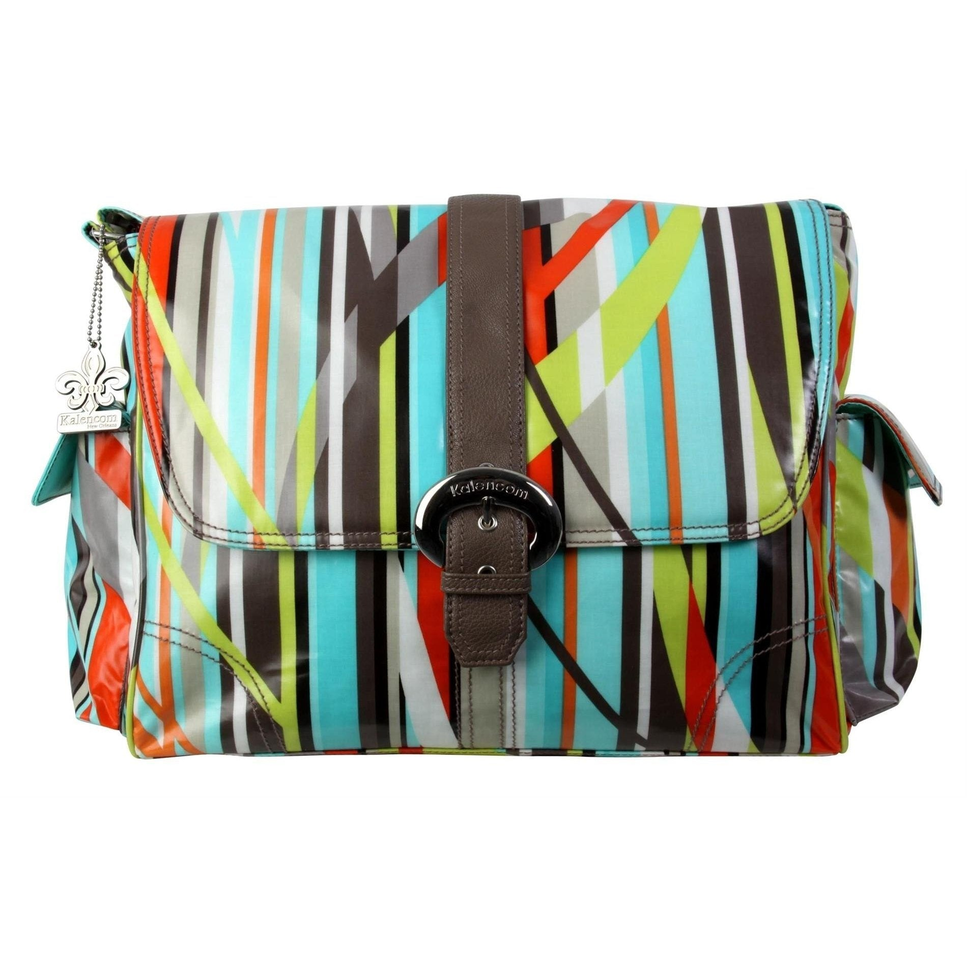 Free Style Laminated Buckle Diaper Bag | Style 2960 - Kalencom-Diaper Bags-Jack and Jill Boutique