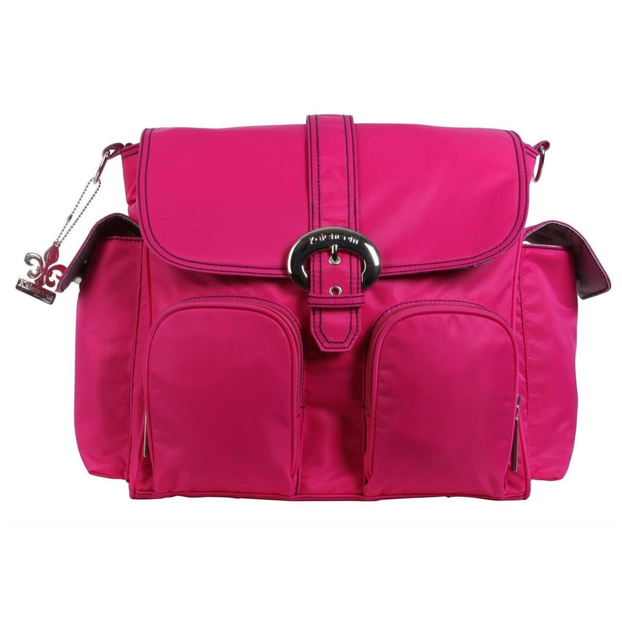 Fuchsia Nylon Double Duty Diaper Bag | Style 2991 - Kalencom-Diaper Bags-Default-Jack and Jill Boutique