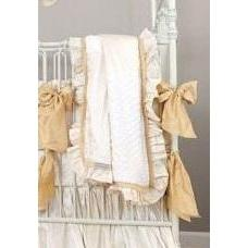 Blanket | Gabrielle Silk Bedding-Baby Blanket-Jack and Jill Boutique