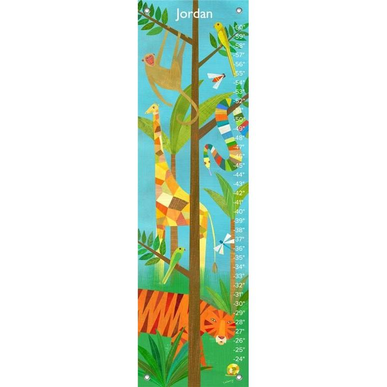 Giraffe In The Jungle Growth Charts Jack And Jill Boutique