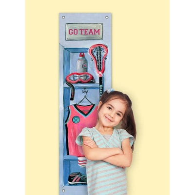 Girl's Lacrosse Locker Growth Charts-Growth Charts-Default-Jack and Jill Boutique