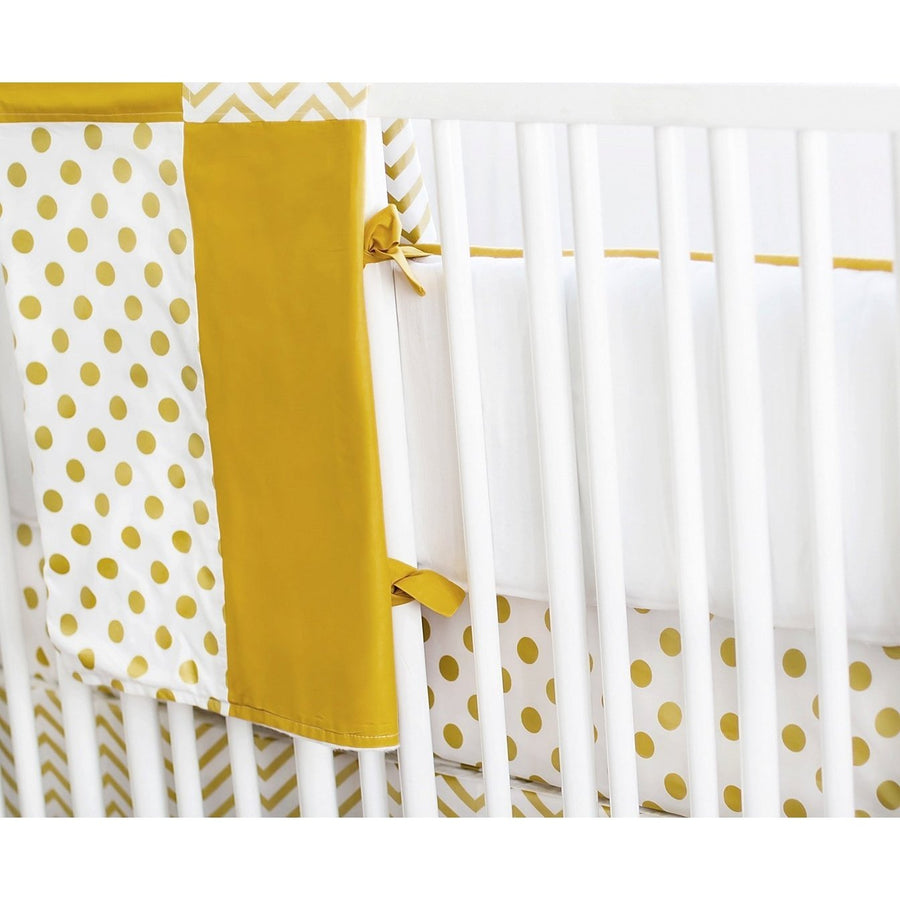 Gold Burst Baby Bedding Set