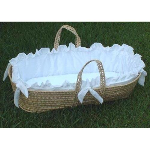 Grace Moses Basket-Moses Basket-Default-Jack and Jill Boutique