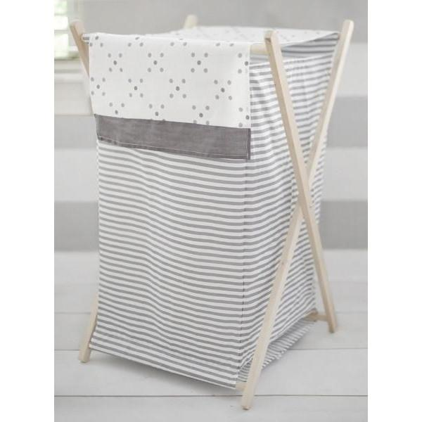 Gray Nursery Hamper | Stripes and Dots-Hamper-Default-Jack and Jill Boutique