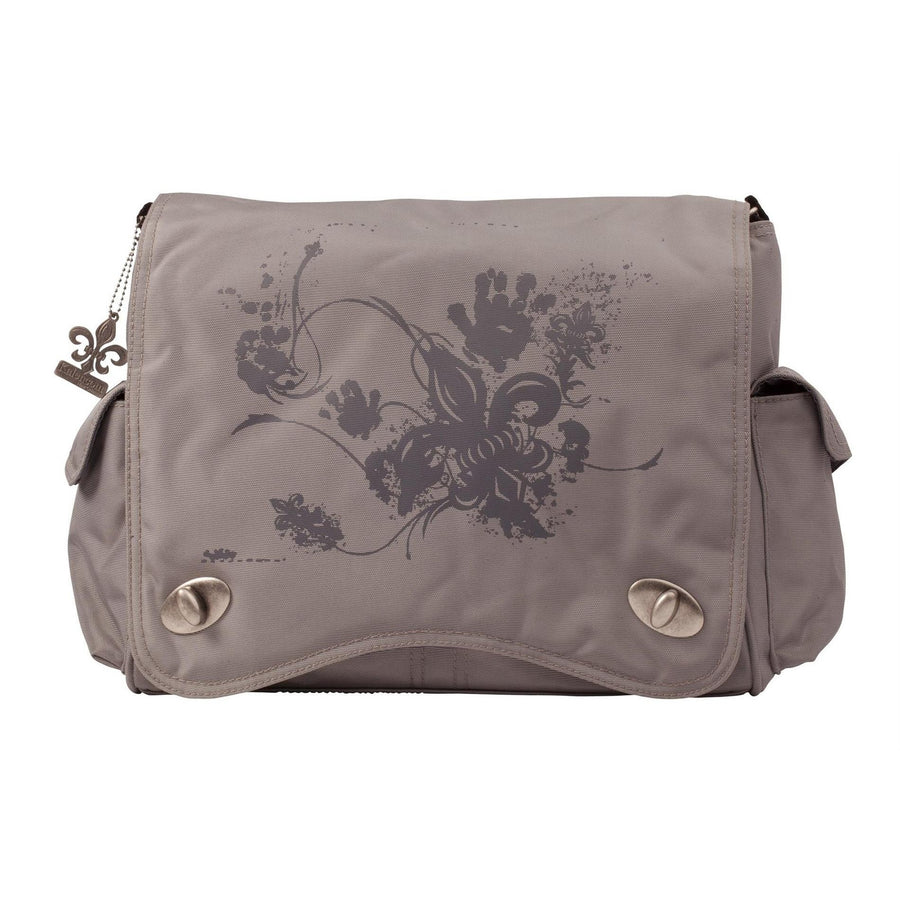 Gray Screened Sam'S Messenger Diaper Bag | Style 2962 - Kalencom-Diaper Bags-Default-Jack and Jill Boutique
