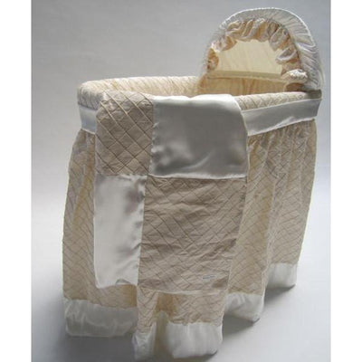 Greenwich Bassinet with Silk Linens-Bassinet-Jack and Jill Boutique