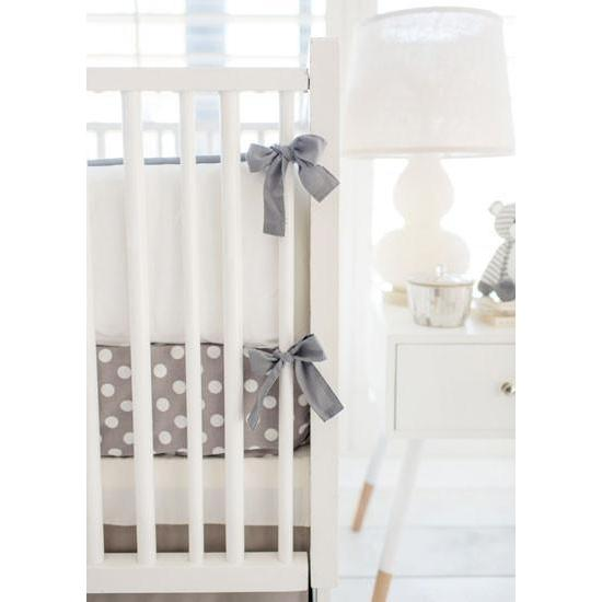 Grey Ombre Baby Bedding Set