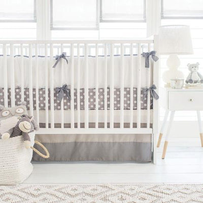 Grey Ombre Baby Bedding Set-Crib Bedding Set-Default-Jack and Jill Boutique