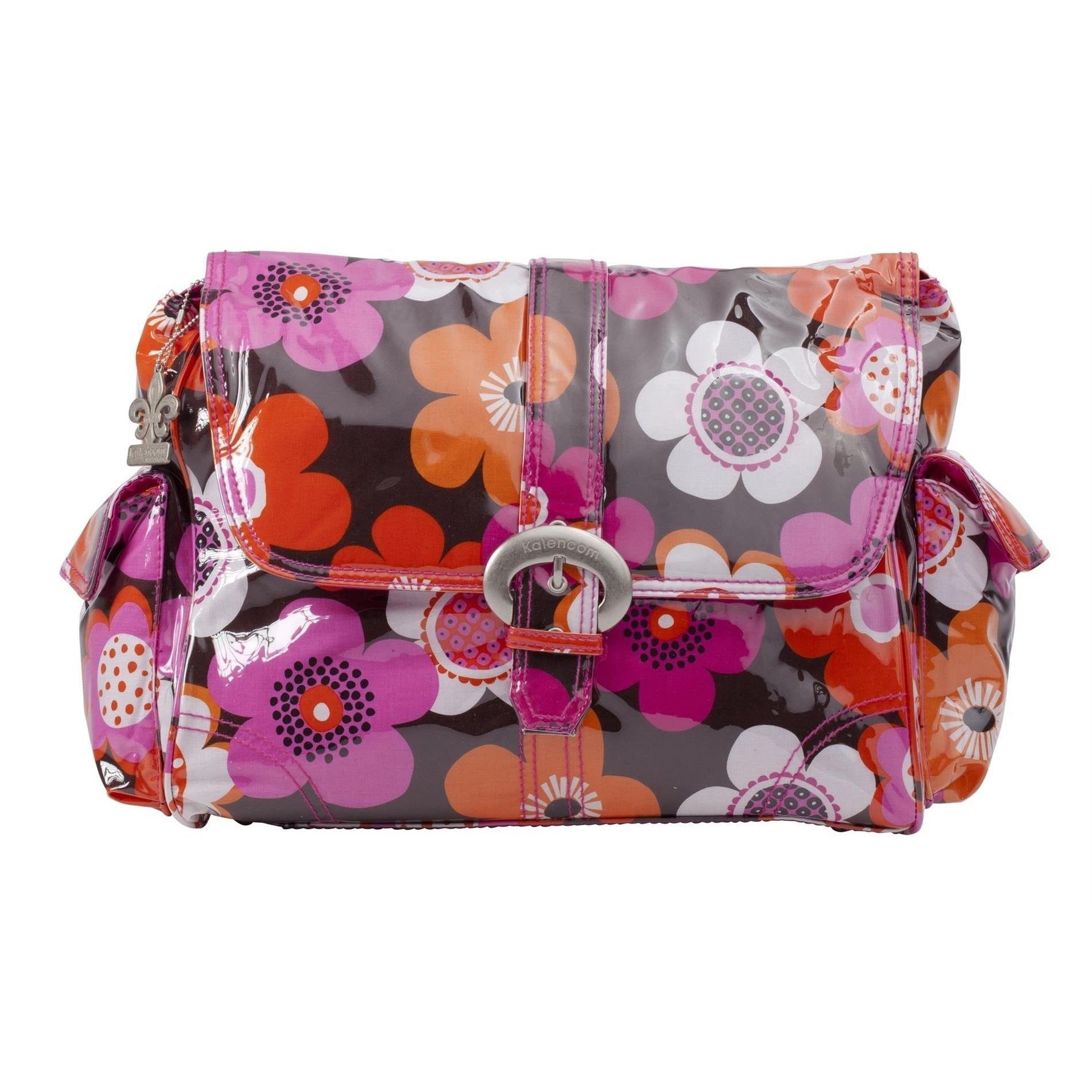 Groovy Laminated Buckle Diaper Bag | Style 2960 - Kalencom-Diaper Bags-Jack and Jill Boutique