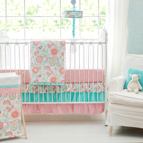 Girl Baby Bedding | Gypsy Baby Crib Collection-Crib Bedding Set-Jack and Jill Boutique