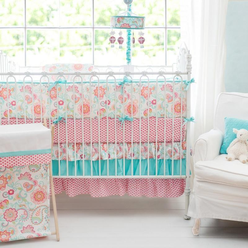 Gypsy Baby Paisley Crib Baby Bedding Set-Crib Bedding Set-Jack and Jill Boutique