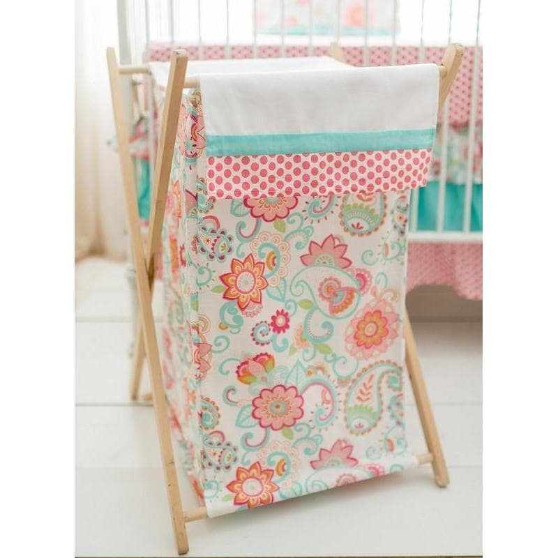 Hamper | Gypsy Baby Paisley Crib Baby Bedding Set-Hamper-Jack and Jill Boutique