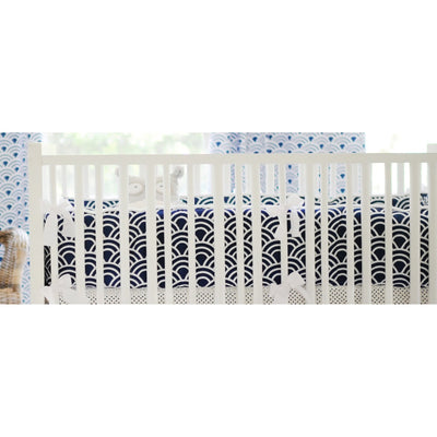 Hampton Bay Navy and Gray Baby Bedding Set-Crib Bedding Set-Default-Jack and Jill Boutique