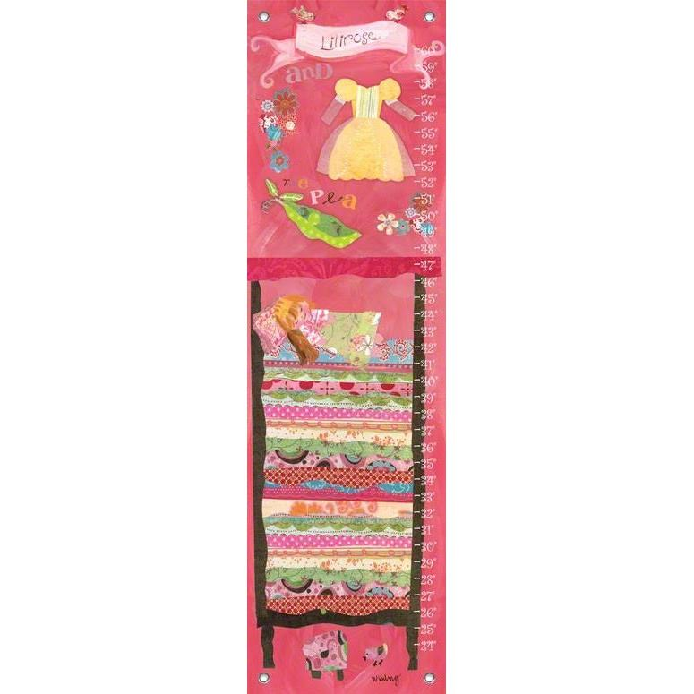 Happily Ever After - Princess and The Pea Growth Charts-Growth Charts-Default-Jack and Jill Boutique