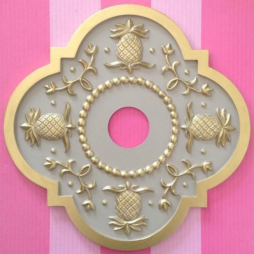 Hawaiian Pineapple Ceiling Medallions-Medallions-Jack and Jill Boutique
