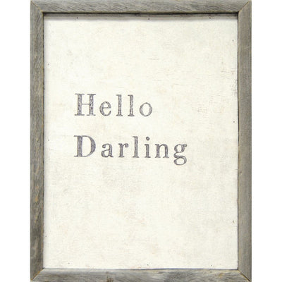 ART PRINT - Hello Darling-Art Print-Default-Jack and Jill Boutique