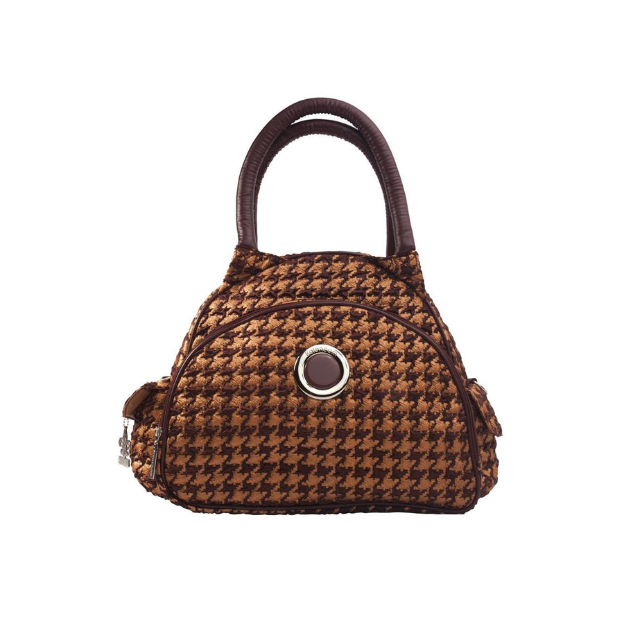 Herringbone Bronze Continental Flair Diaper Bag | Style 2979 - Kalencom-Diaper Bags-Default-Jack and Jill Boutique