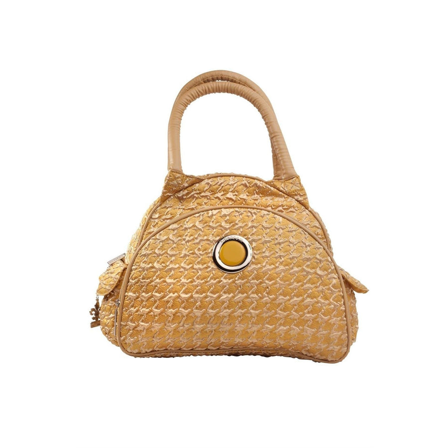 Herringbone Gold Continental Flair Diaper Bag | Style 2979 - Kalencom-Diaper Bags-Default-Jack and Jill Boutique