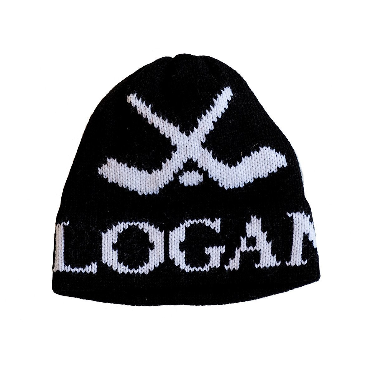 Hockey Personalized Knit Hat-Hats-Jack and Jill Boutique