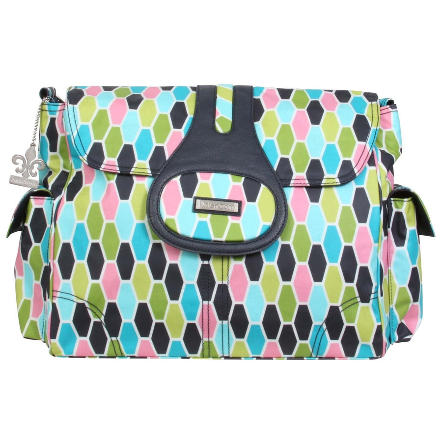 Honeycomb Green Elite Matte Coated Diaper Bag | Style 2975 - Kalencom-Diaper Bags-Default-Jack and Jill Boutique