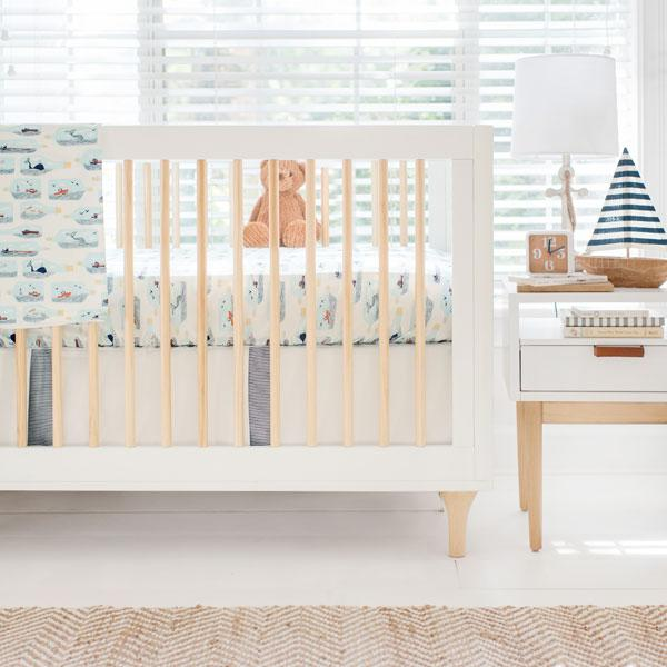 Nautical Crib Baby Bedding Set-Crib Bedding Set-Jack and Jill Boutique