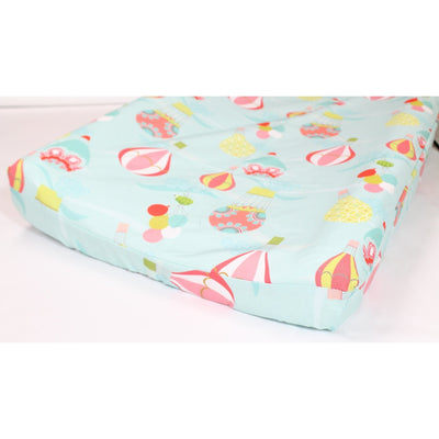 Hot Air Balloon Baby Bedding | Aqua, Coral Crib Bedding Set-Crib Bedding Set-Jack and Jill Boutique