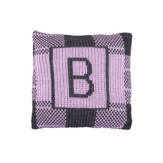 Buffalo Check & Initial Personalized Pillow-Pillow-Jack and Jill Boutique
