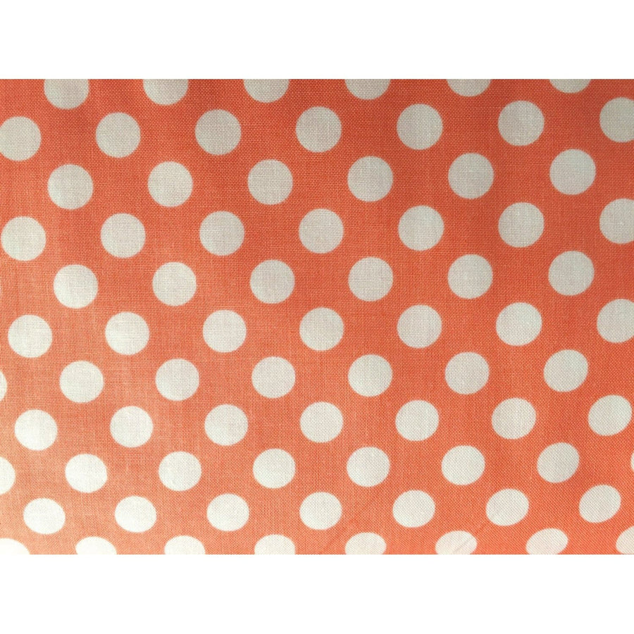 Ta Dot Peach Fabric by the Yard | 100% Cotton-Fabric-Default-Jack and Jill Boutique