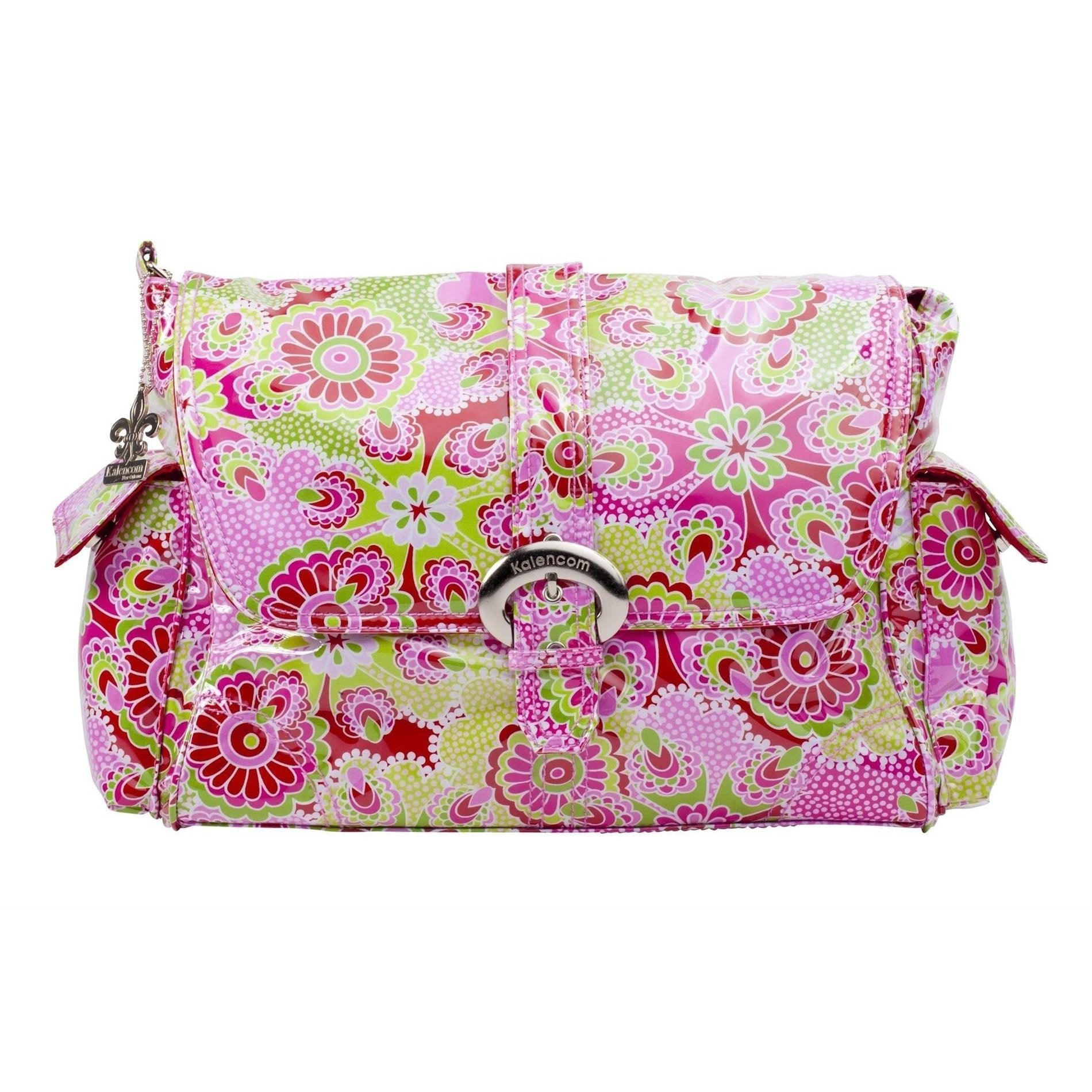 Jazz Ruby Laminated Buckle Diaper Bag | Style 2960 - Kalencom-Diaper Bags-Jack and Jill Boutique
