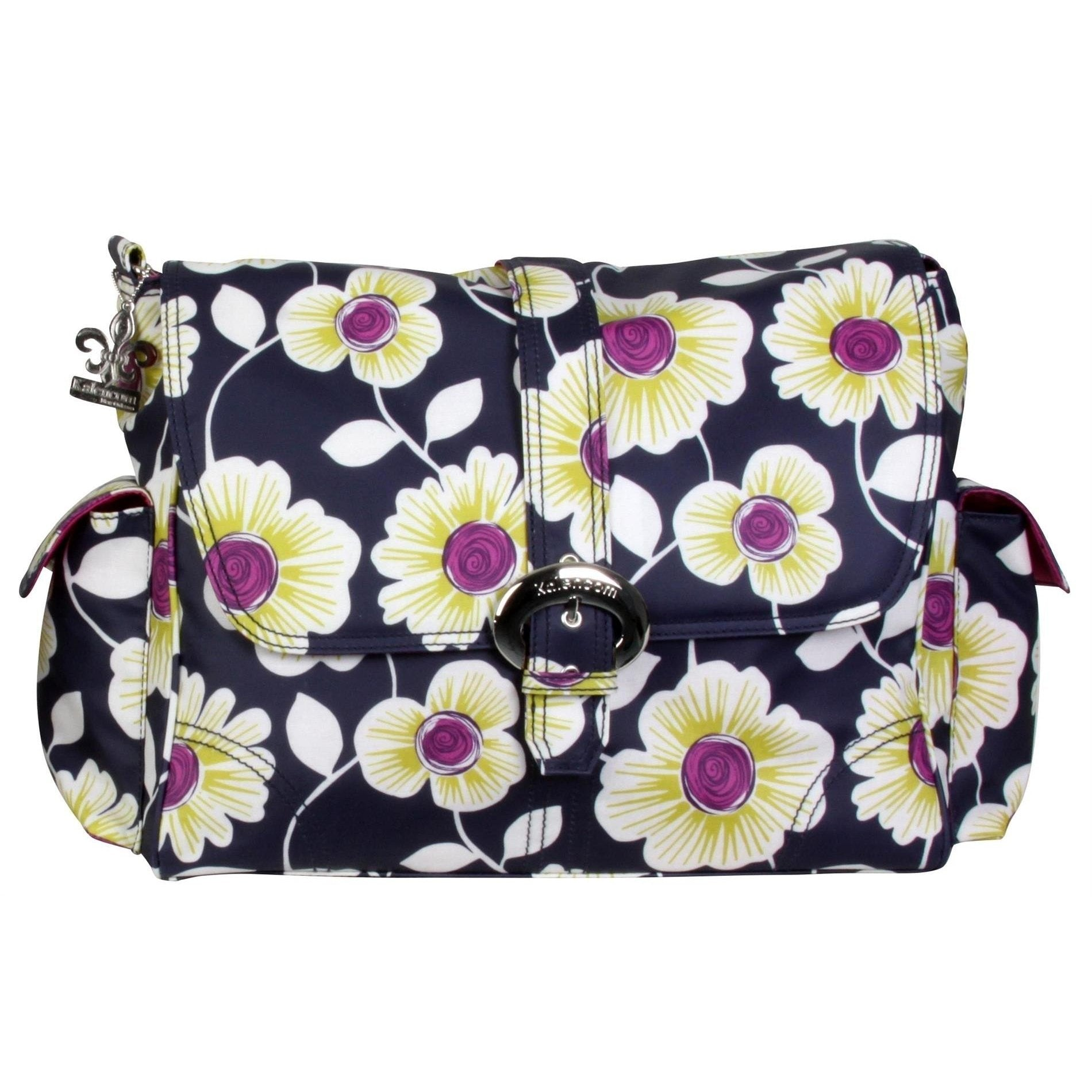 Jewel Daisies Matte Coated Buckle Diaper Bag | Style 2960 - Kalencom-Diaper Bags-Default-Jack and Jill Boutique